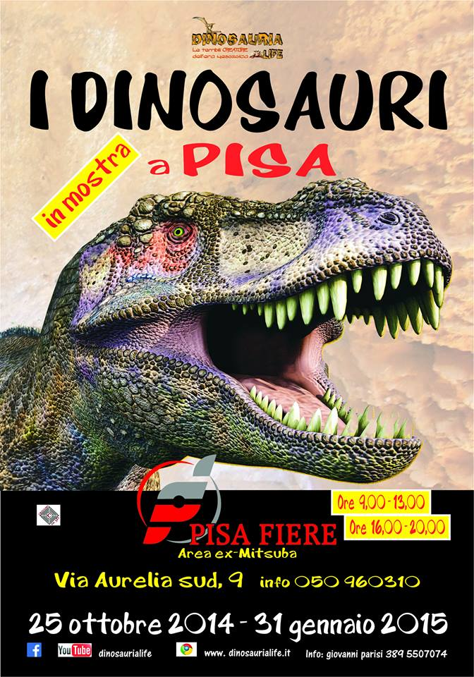 Dinosauri Pisa